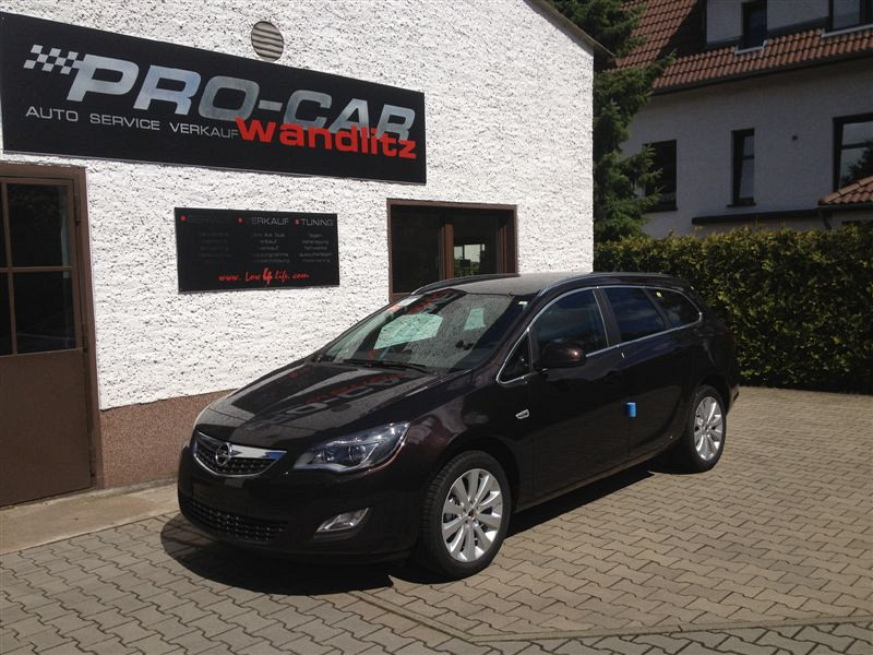 Opel Astra Linksgas